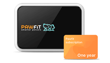 Pawfit2 device and logo