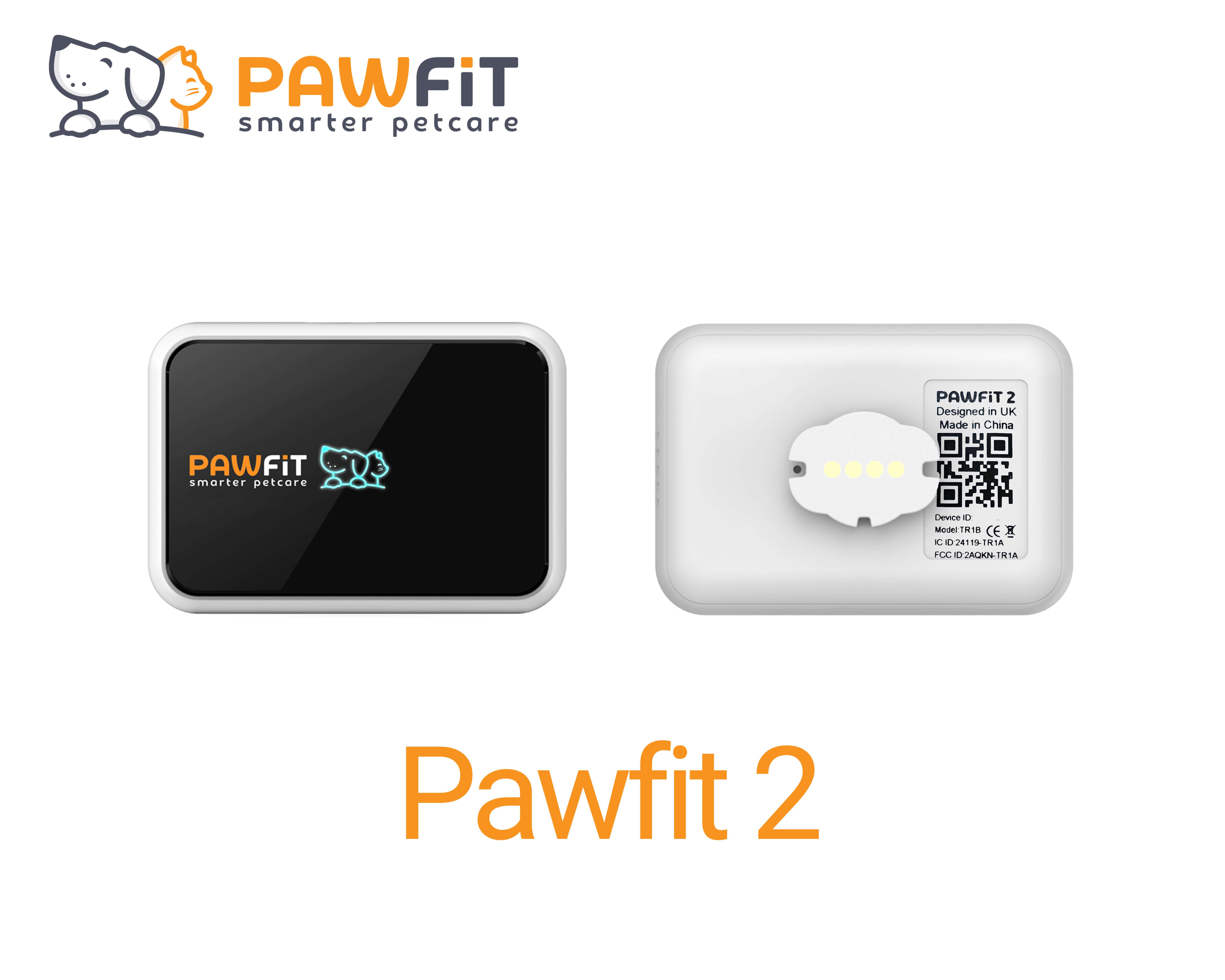 Pawfit 2 front and back