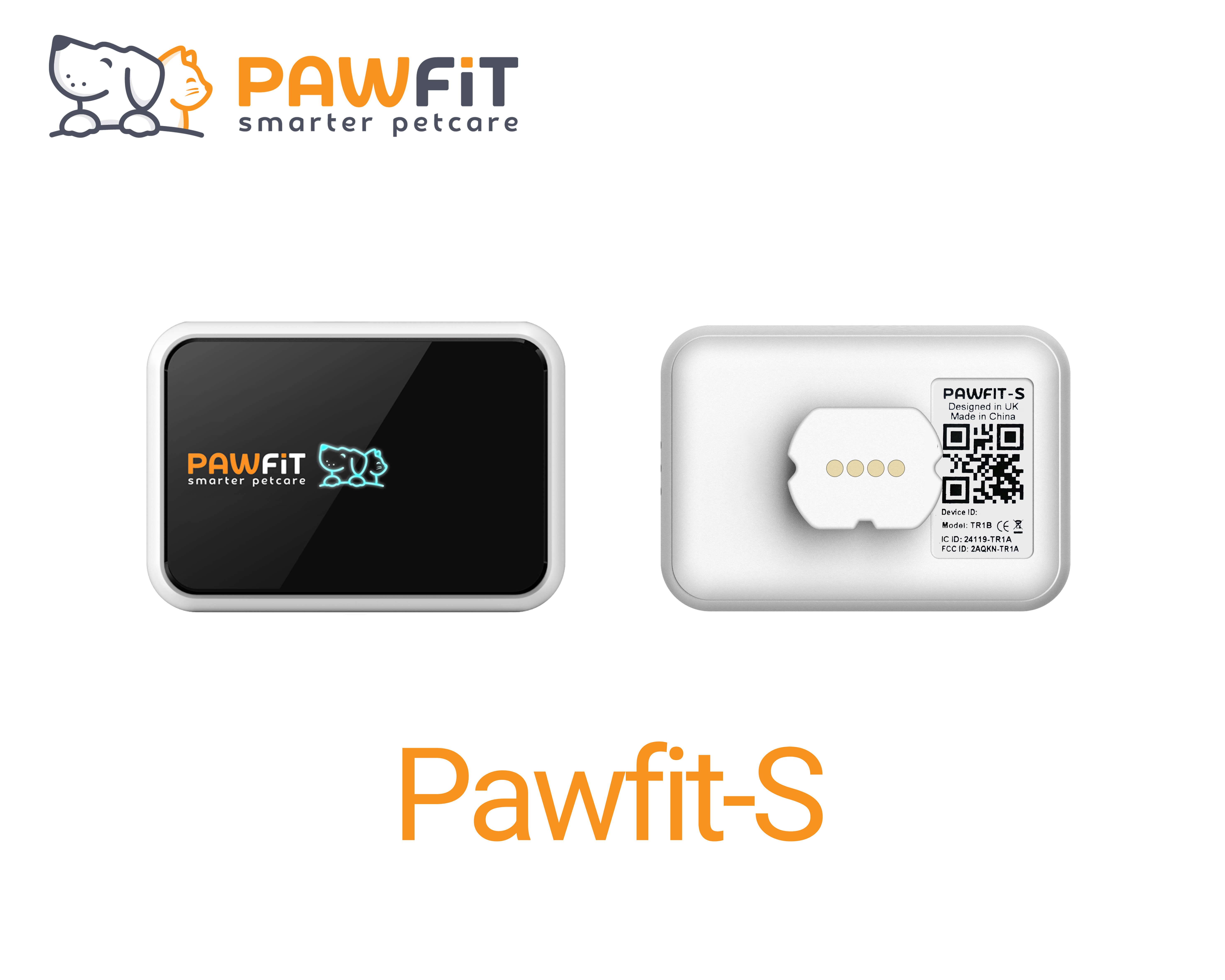 Pawfit-S front and back